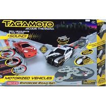 Autopista Tagamoto Enforcer Road Set De Carreras