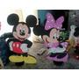 Figuras De 60 Cm. Mickey Y Minnie