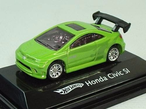 Hot Wheels Ho Honda Civic Si Verde Mattel 1:87   R$ 27,99 Em Mercado Livre