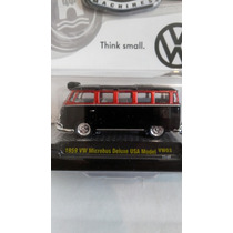 1959 Vw Microbus Deluxe Usa Model M2 Machines Escala 1/64