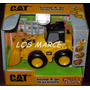Cat Caterpillar Camion Topadora Bump & Go Touch Machines