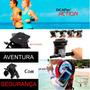 Bolsa Capa Aquatica Dicapac Dab-c2 + Armband + Suporte Bike