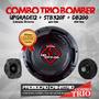 Combo Para Caixa Trio/driver + Twitter + Alto-falante Bomber