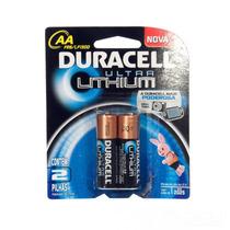 Pilha Aa Pequena Ultra Lithium C/2 Duracell