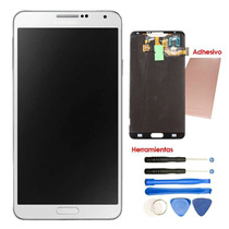 Samsung Pantalla Display Galaxy Note 3 Lcd Kit Adhesivo Blan