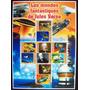 Congo Personal, Bloque 5 Sellos Julio Verne 2005 Usado L6709