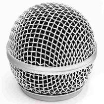 Globo Csr Para Microfone Ht 58 Compativel Com Shure Sm58 Lc