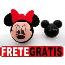 Minnie Enfeite Antena + Aromatizador Mickey Disney Original