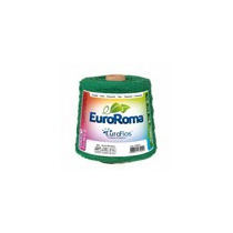 Barbante Euroroma - Nº 6 - 1 Kg - Verde Bandeira