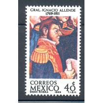 Ignacio Allende Pintura De Diego Rivera 1969