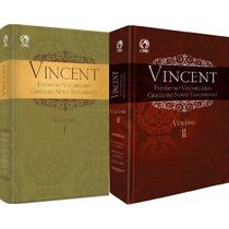 Kit Vocabulário Grego Bíblico Vincent Do Novo Testamento