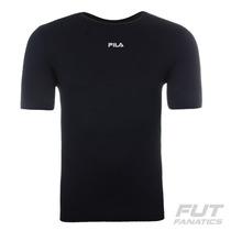 Camiseta Fila Basic Light Preto - Futfanatics
