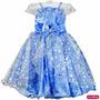 Vestido Elsa Frozen Princesa Infantil Luxo 3 Ao 12 E Tiara<br><strong class='ch-price reputation-tooltip-price'>R$ 149<sup>00</sup></strong>
