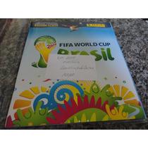 Álbum Figurinhas Copa Mundo 2014 - Completo