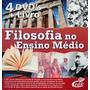 Dvds Original Filosofia Ensino Médio Editora Sbj + Brinde