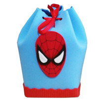 Bolsitas Golosineras Spiderman En Goma Eva.
