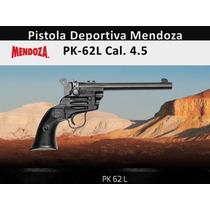 Pistola Deportiva Mendoza Larga Pk-62l Cal.4.5 Envío Gratis
