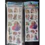 Stickers 3d Holográficos Barbie Set X 20 Planchas