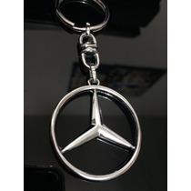 Chaveiro Carro Mercedes Benz Aço Cromado Alta Qualidade
