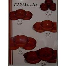 Cazuela Artesanal De Barro N°7 (12cm)