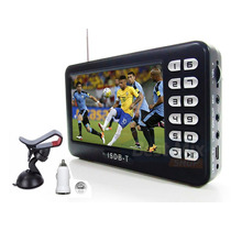 Tv Digital Portátil Tela 4.3 Usb Rádio Fm Sd Video Kit Carro