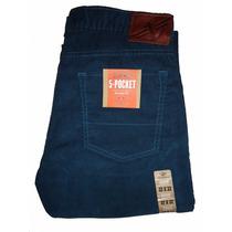 Pantalon Cotele Dockers 5 Poket Straight F. 32x32 (talla 44)