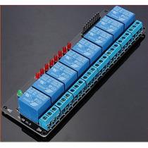 Modulo Relevadores 8 Canales 5v Para Arduino Uno
