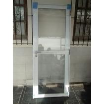 Puerta De Aliminio 80x200 Vidriada Super Oferta!!!!!!!!