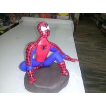Adorno Torta En Porcelana Fria Spiderman - Hombre Araña