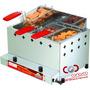 Fritadeira Inox Gás Pr-30g De 10 Litros Com 3 Cestos Progás