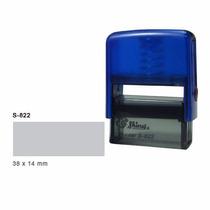 Sello Personalizado Automático S-822