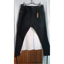 Calça Jeans Preta Modelo Saruel Plus Size