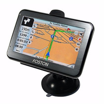 Navegador Gps Foston Fs-3d 463 Tv Digital Tela 4.3 Trans Fm