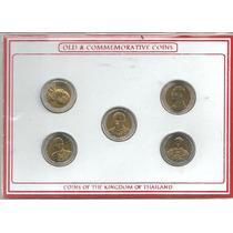Set De Tailandia 5 Monedas