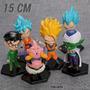 Dragon Ball Z Fukkatsu Set Completo 6 Und. Alta Calidad