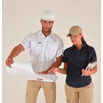 Camisas Tipo Columbia Uniformes Bordados Textil Confección