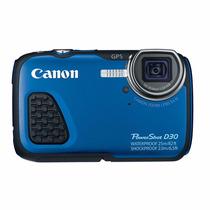 Cámara Canon Powershot D30 (acuática) Reacondicionado