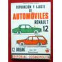 Reparación Y Ajuste De Automóviles Renault 12 Y R12 Break
