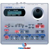 Bateria Eletrônica Boss Dr3 Módulo De Ritmos Playback
