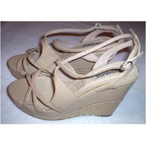 Zapatos De Dama Altos - Tacon Corrido. Importados