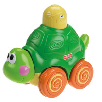 Tortuga Presiona Y Gatea Fisher Price