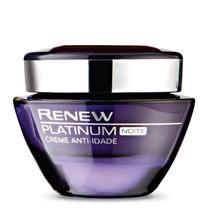 Renew Platinum Creme Anti Idade Noite 50g + Brinde