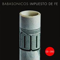 Babasonicos: Cd + Dvd Impuesto De Fe (pre Venta 20/05)