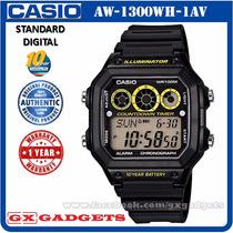Relógio Casio Masculino Ae-1300wh-1av Frete Grátis