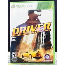 Jogo Driver San Francisco Xbox 360, Original, Novo, Lacrado