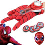 Set Cosplay Spiderman - Con O Sin Mascara Luminosa!!!!!