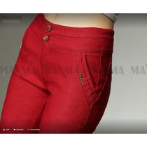 Calça Feminina Coloridas Com Lycra Super Confortavel