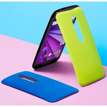 Motorola Moto G3 16gb Dual Sim Contra Agua + 2 Tapas - Negro