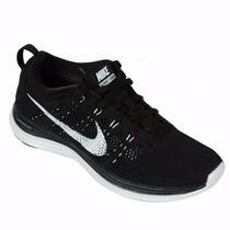 Zapatillas Nike Flyknit Lunar 1 Negras Hombre 2016