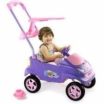 Carrinho Passeio P/ Bebê Baby Car Lilas Xplast